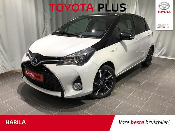 Toyota Yaris 1,5 Hybrid Bi Tone + e-CVT aut  2016, 29773 km, kr 179000,-