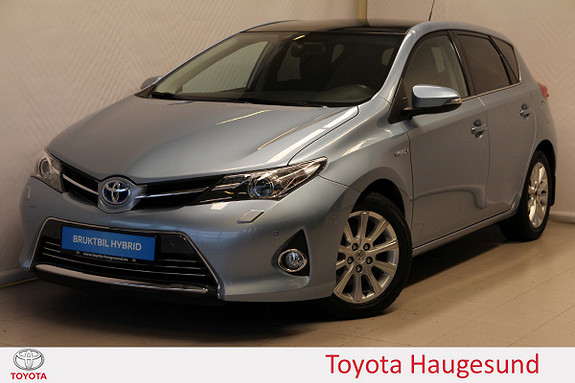 Toyota Auris 1,8 Hybrid E-CVT Executive  2013, 47668 km, kr 169000,-