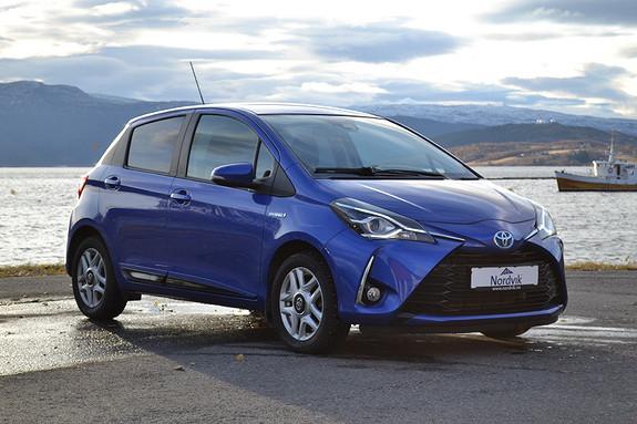 Toyota Yaris 1,5 Hybrid Active+ e-CVT aut  2018, 14696 km, kr 219000,-