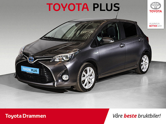 Toyota Yaris 1,5 Hybrid Style e-CVT  2016, 23305 km, kr 169000,-
