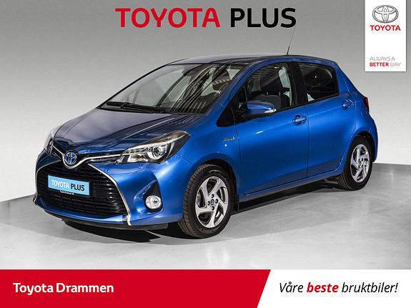 Toyota Yaris 1,5 Hybrid Active S e-CVT  2017, 30075 km, kr 175000,-