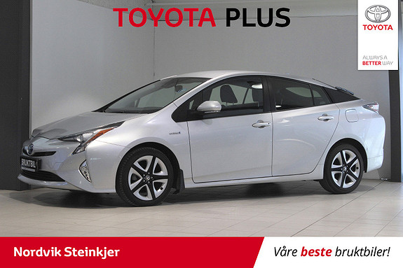 Toyota Prius 1,8 VVT-i Hybrid Executive Head-Up, Adaptiv Cruise, DAB  2016, 48 400 km, kr 229 000,-