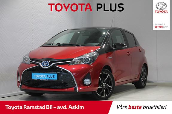 Toyota Yaris 1,5 Hybrid Bi Tone + e-CVT aut  2016, 63783 km, kr 169000,-