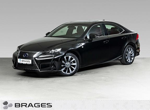 Lexus IS 300h F Sport S Skinn, Adap.Cruise, Soltak, Navi, R.kam  2016, 44900 km, kr 365000,-