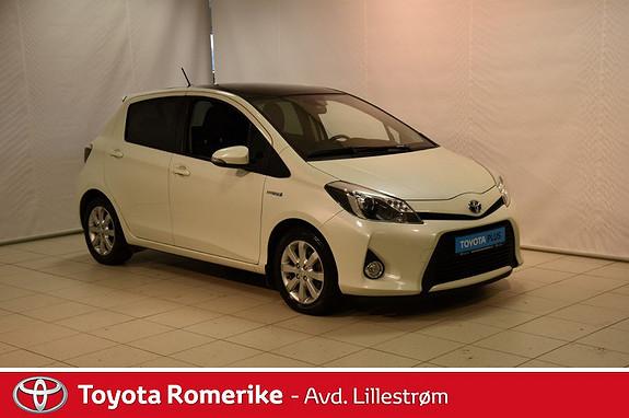 Toyota Yaris 1,5 Hybrid Style  2013, 70117 km, kr 115000,-
