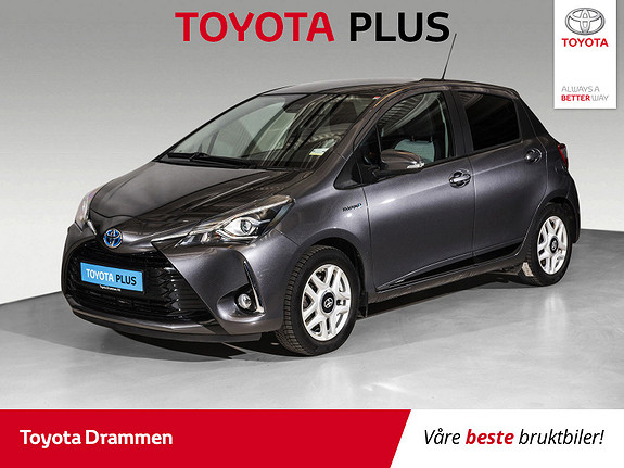 Toyota Yaris 1,5 Hybrid Active e-CVT aut  2018, 45735 km, kr 185000,-