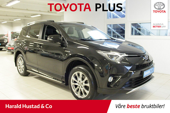 Toyota RAV4 Hybrid 4WD Executive , SERVICEAVTALE 3 ÅR,  2016, 72254 km, kr 369000,-