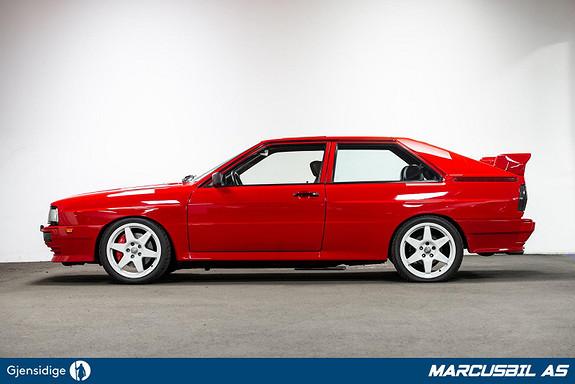Audi URQUATTRO RS2 420 HK Treser Performance MÅ SEES!  1986, 165784 km, kr 599000,- image