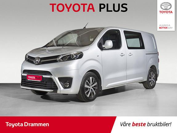 Toyota Proace 2,0 D 122 Comfort Plus L1H1  2018, 15590 km, kr 275000,-