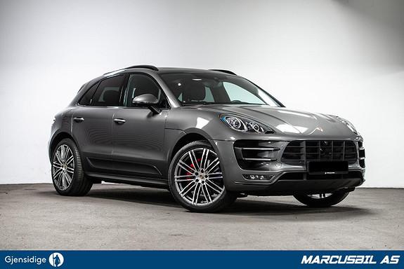 Porsche Macan Turbo 400HK Norges best utstyrte, Ny i Norge Må sees!  2016, 37800 km, kr 949000,- image