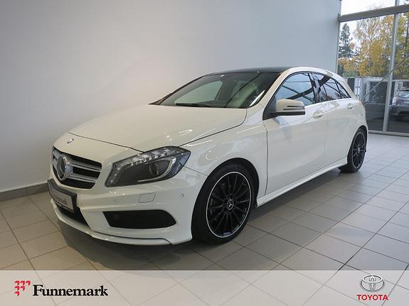 Mercedes-Benz A-Klasse A180 Aut. AMG Line  2014, 66450 km, kr 194900,-