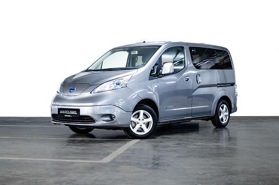 Nissan e-NV200 40kWt/EVALIA/7 SETER/RYGGEKAMERA/NAVI/DAB++  2018, 17000 km, kr 289999,- image