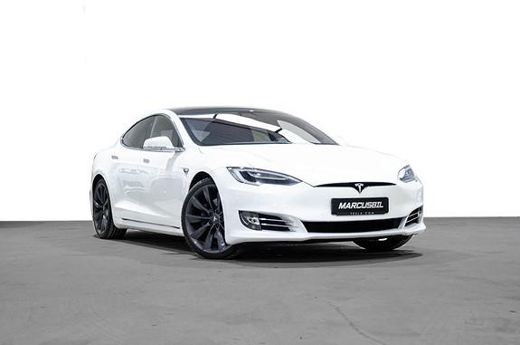 Tesla Model S 75D AP2.5/VINTER/HIFI/SKINN/21&19/UTVIDET GARANTI  2017, 40000 km, kr 579999,- image
