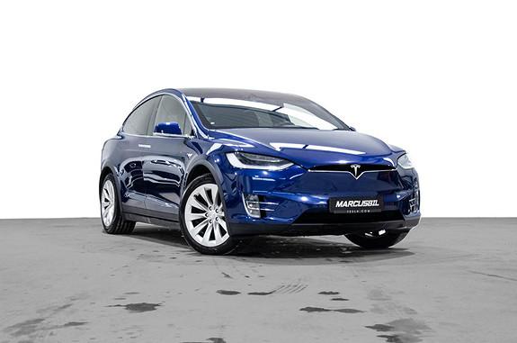 Tesla Model X 90D 7S/FSD/VINTER/HIFI/H.FESTE/SKINN/GRATIS LADING  2017, 53500 km, kr 679999,- image