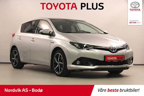 Toyota Auris 1,8 Hybrid E-CVT Style Edition  2017, 11514 km, kr 249000,-