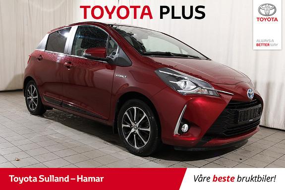 Toyota Yaris 1,5 Hybrid Active+ e-CVT aut Nøkkelfri - Navi - Ryggek.  2018, 45029 km, kr 189900,-