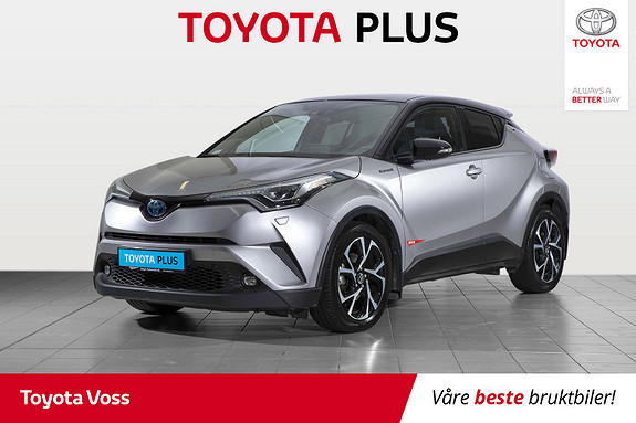 Toyota C-HR 1,8i Hybrid Dynamic Tech  2018, 45900 km, kr 299000,-