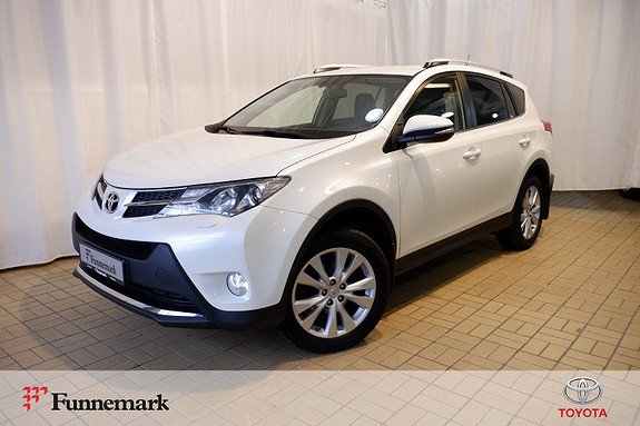Toyota RAV4 2,2 D-4D 4WD Exective  2013, 121821 km, kr 249000,-