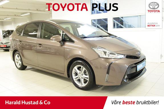 Toyota Prius+ Seven 1,8 VVT-i Hybrid Executive Skyview  2016, 55000 km, kr 274000,-