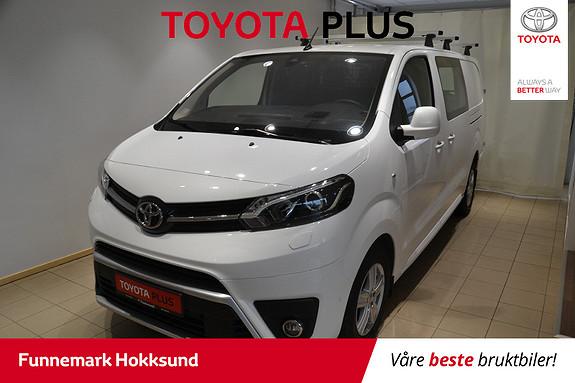 Toyota Proace 2,0 D 177 Comfort Plus L2H1 aut  2018, 15800 km, kr 325000,-