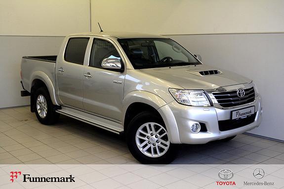 Toyota HiLux D-4D 171hk D-Cab Aut 4wd SR+ Unik lav km-  2012, 43000 km, kr 289000,-