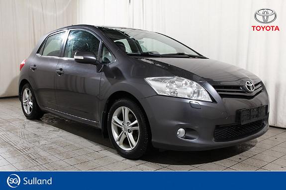 Toyota Auris 1,33 Dual VVT-i Stop&Start Advance Hengerfeste - DAB+  2011, 116834 km, kr 94900,-