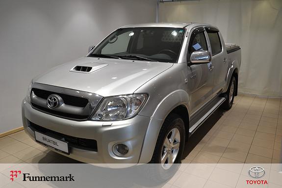 Toyota HiLux D-4D 143hk D-Cab 4WD SR5  2010, 253800 km, kr 139000,-