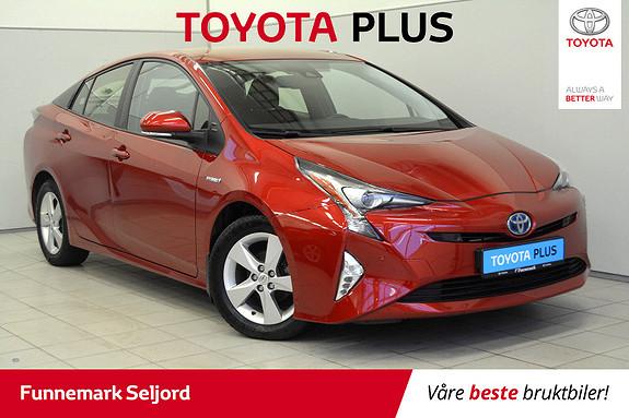 Toyota Prius 1,8 VVT-i Hybrid Executive Flott utstyrt. 1 eier-bi led  2016, 67000 km, kr 199000,-