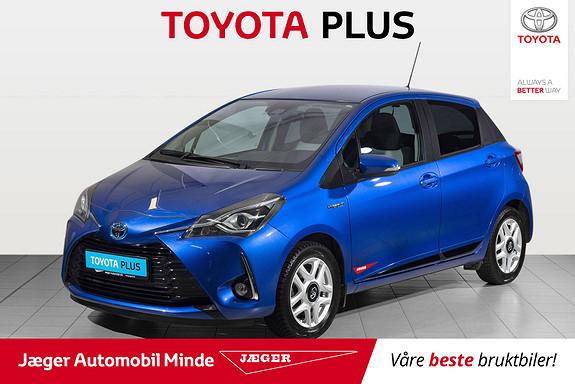 Toyota Yaris 1,5 Hybrid Active+ e-CVT aut  2018, 51300 km, kr 209000,-