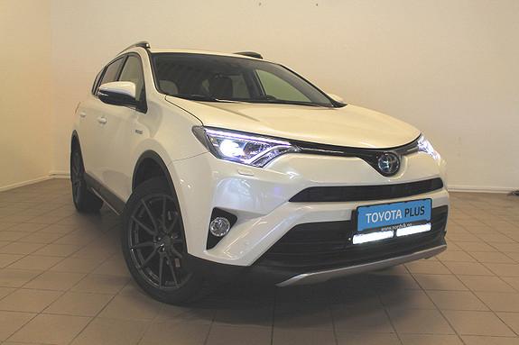 Toyota RAV4 Hybrid 4WD Executive FJERNSTYRT VARME    Ekstralys    2018, 9800 km, kr 469000,-