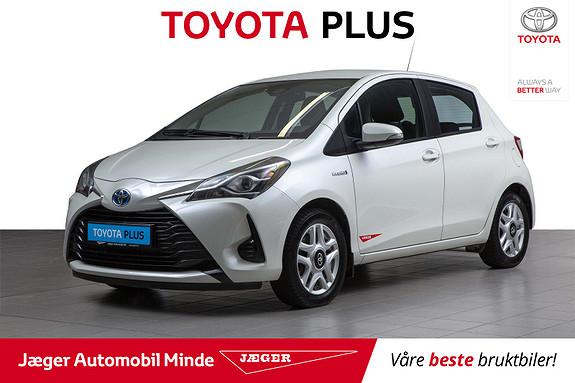 Toyota Yaris 1,5 Hybrid Active Go e-CVT aut  2018, 53900 km, kr 199000,-