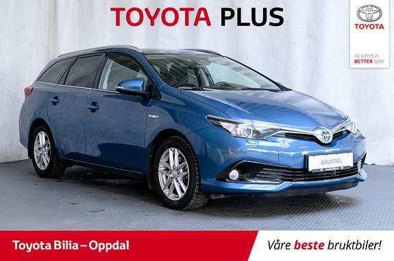 Toyota Auris Touring Sports 1,8 Hybrid Active ,navi, DAB+  2017, 54366 km, kr 209000,-