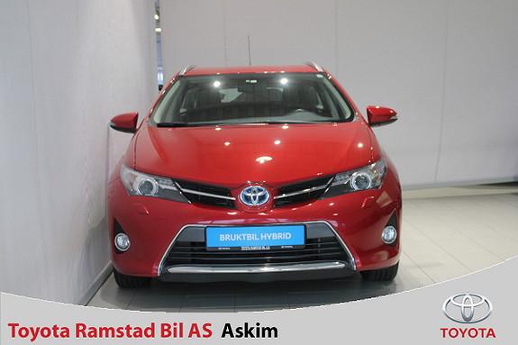 Toyota Auris 1,8 Hybrid E-CVT Active Go navi  2014, 93700 km, kr 149000,-