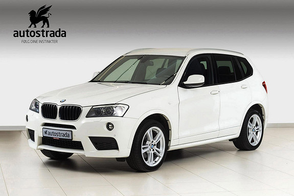 BMW X3 2.0dA 184 hk xDrive M-Sport