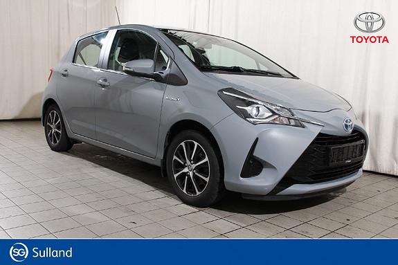 Toyota Yaris 1,5 Hybrid Active Go e-CVT aut Navi -Ryggekam - Keyless  2018, 21913 km, kr 189900,-