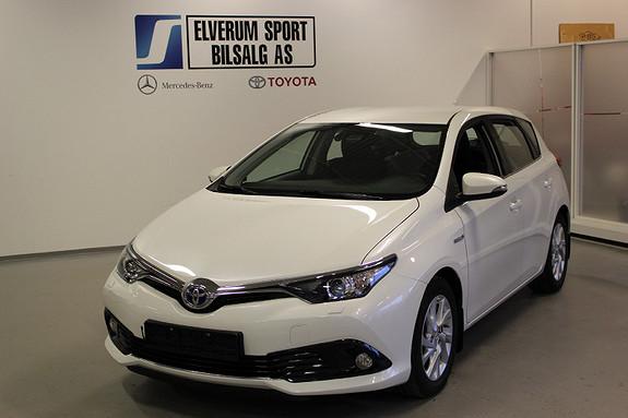 Toyota Auris 1,8 Hybrid E-CVT Active  2016, 31986 km, kr 199000,-