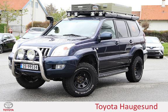 Toyota Land Cruiser LC120 D-4D aut MYE PÅKOSTET - TECTYLERT - 5 SETER ++  2003, 267200 km, kr 219000,-