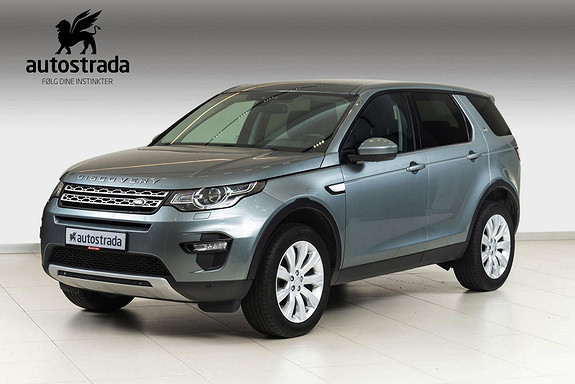 Land Rover Discovery Sport 2.2  TD4 HSE 150 HK  2015, 80000 km, kr 379000,-