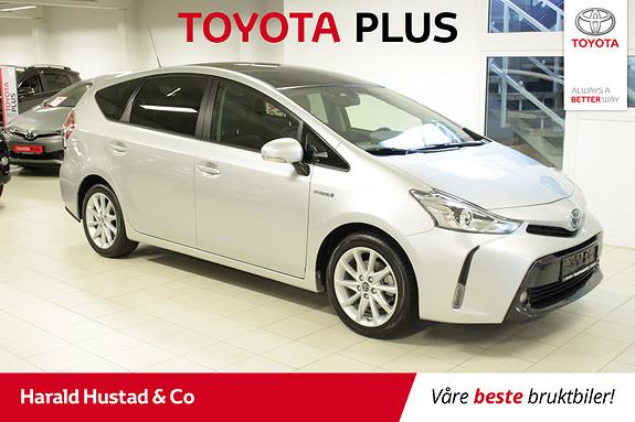 Toyota Prius+ Seven 1,8 VVT-i Hybrid Executive Skyview , SERVICEAVTALE 3 ÅR  2017, 27000 km, kr 319000,-