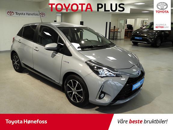Toyota Yaris 1,5 Hybrid Active+ e-CVT aut ISO-Fix Navi Ryggekamera  2018, 44670 km, kr 179000,-