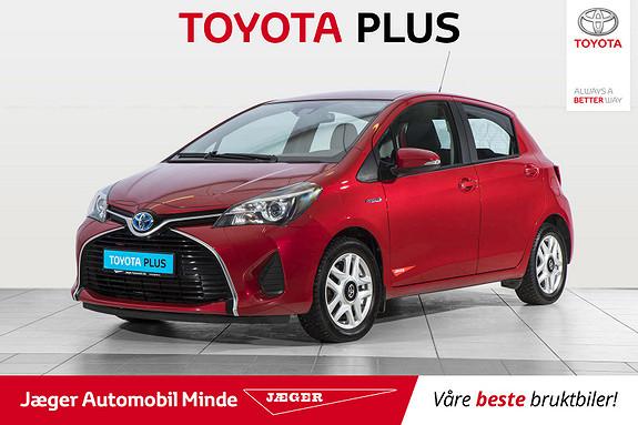 Toyota Yaris 1,5 Hybrid Active S e-CVT  2016, 75200 km, kr 159000,-