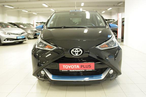 Toyota Aygo x-trend 1.0 , SERVICEAVTALE 3 ÅR, 1,95% KAMPANJERENTE,  2018, 1453 km, kr 165000,-