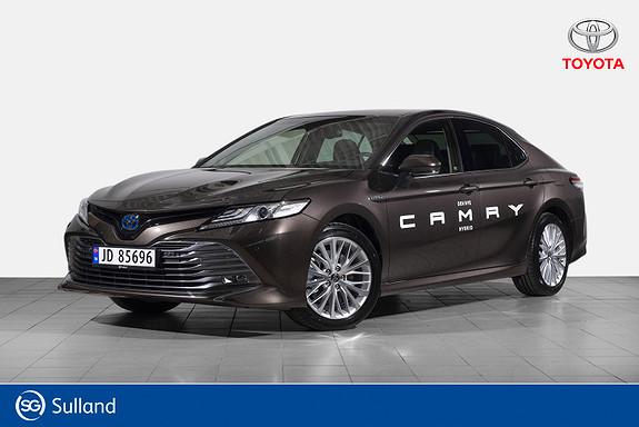 Toyota Camry Hybrid Platinum HUB, Navi, Skinn, Adaptic cruise  2019, 10000 km, kr 478900,-