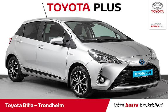 Toyota Yaris 1,5 Hybrid Active+ e-CVT aut  2018, 52628 km, kr 189000,-