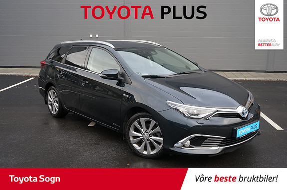 Toyota Auris Touring Sports 1,8 Hybrid Executive Panoramatak  2016, 44 181 km, kr 229 000,-