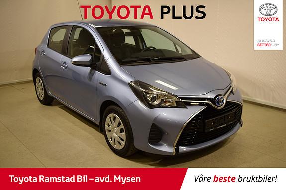 Toyota Yaris 1,5 Hybrid Active Go e-CVT aut  2015, 54200 km, kr 149000,-