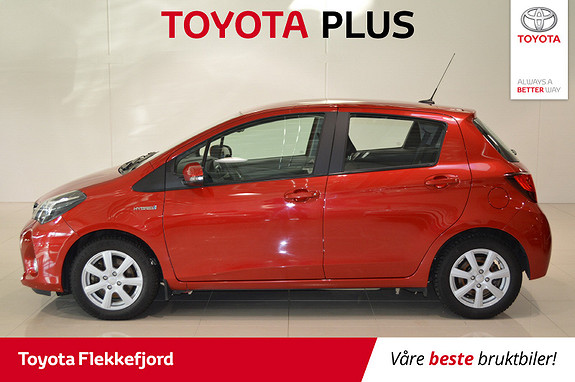 Toyota Yaris 1,5 Hybrid Active S e-CVT  2016, 48093 km, kr 169000,-