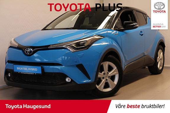Toyota C-HR 1,8i Hybrid Lounge Tech  2019, 4400 km, kr 359000,-