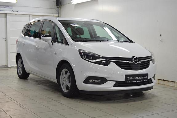 Opel Zafira Tourer 1.4 T 140HK PREMIUM 7 seter, skinn, navigasjon, sportss  2018, 29200 km, kr 349000,-