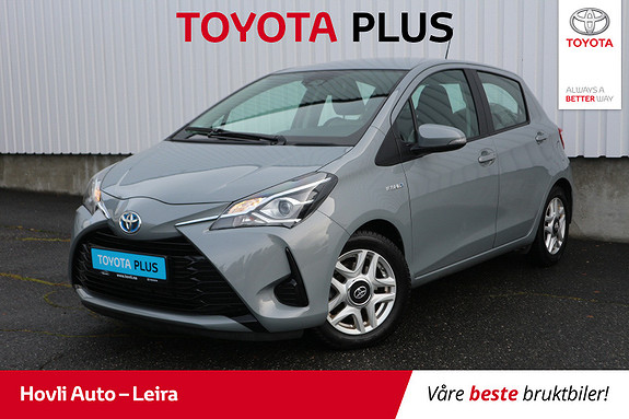 Toyota Yaris 1,5 Hybrid Active Go e-CVT aut // Rett fra service //  2018, 45200 km, kr 177900,-